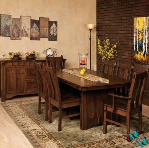Franciscan Amish Dining Room Set