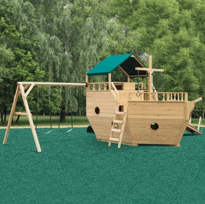 Buccaneer's Boat Amish Playset
