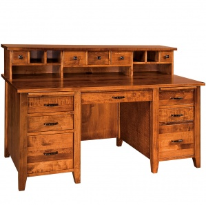 Country Squire Desk & Hutch Option