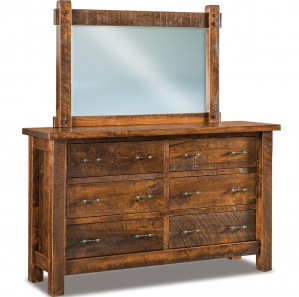 Rustic Bedroom Furniture:Optional King Size Bed, Rustic Dresser ...