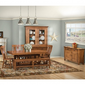 Teton Amish Amish Kitchen Table Set