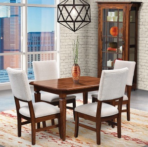 Weston Amish Dining Room Furniture Set