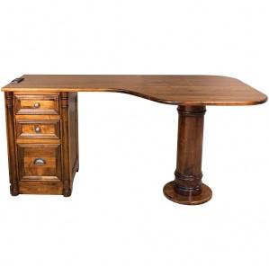 Pembroke Pedestal Amish Desk