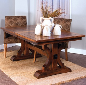 Barstow Rustic Amish Dining Room Set