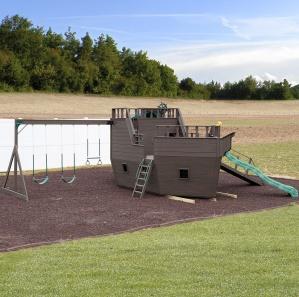 Pirate Ship Amish Playset