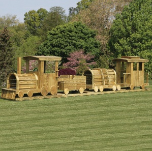 Choo Choo Train 4 Pc. Amish Playset