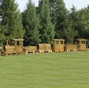 Choo Choo Train 6 Pc. Amish Playset