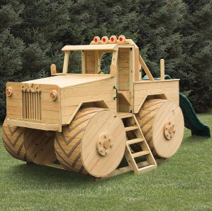 Mighty Fun Monster Truck Amish Playset Kit