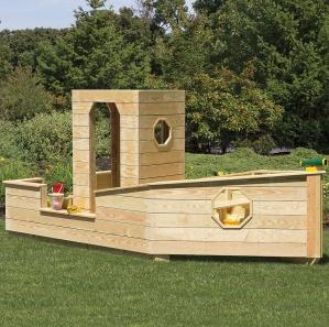 Sandbox Boat Amish Playset
