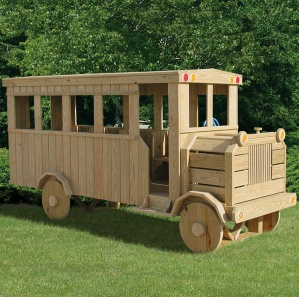 Off We Go To School Bus Playset