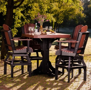 Glade Haven Square Patio Table Set