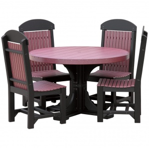 Glade Haven Round Patio Table Set