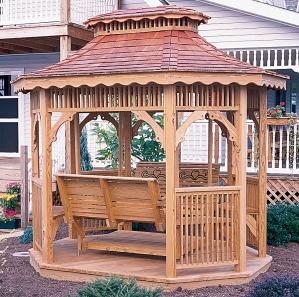 Wood Teahouse Kit
