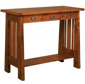 Open Freemont Writing Amish Table