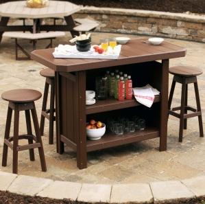 Glade Haven Outdoor Bar Set