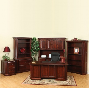 Fifth Avenue Amish Office Furniture Set