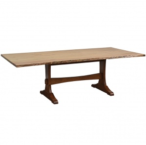 Wasilla Live Edge Amish Dining Table