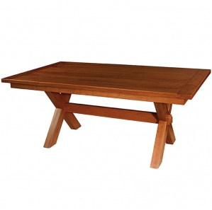 Frontier Trestle Amish Dining Table