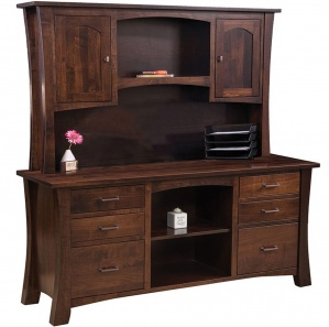 Fair Park Credenza with Amish Hutch Option