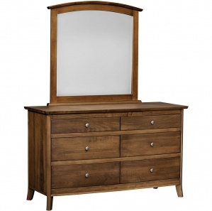 Master Modern Bedroom Set Handmade Bed Wooden Headboard Dresser With Mirror Chest Of 5 Drawers