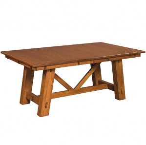 Manitoba Trestle Amish Dining Table