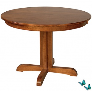 Capella Round Amish Dining Table