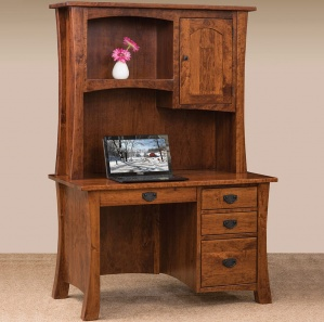Ashley Amish Desk with Hutch Option