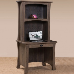 Bradley Amish Desk with Hutch Option