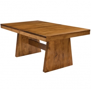 Bayport Amish Trestle Table - Amish Kitchen Table