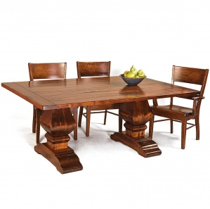 Wilmington Amish Dining Table Set