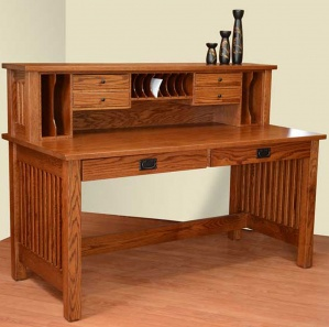JD's Writing Desk with Hutch Option