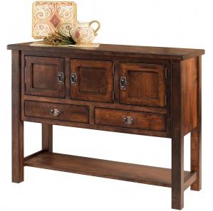 Portage Park Amish Sideboard Cabinet