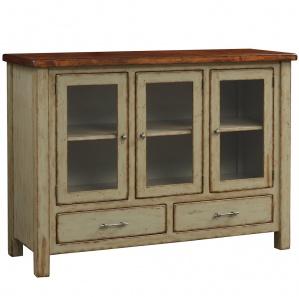 Portage Park Farmhouse Display Cabinet