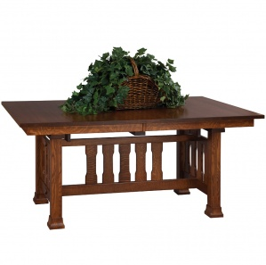 Monterey Trestle Amish Dining Table
