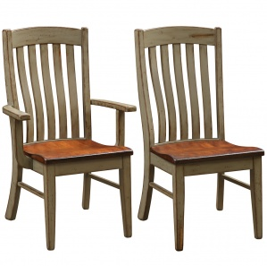 Houghton Farmhouse Amish Dining Chairs