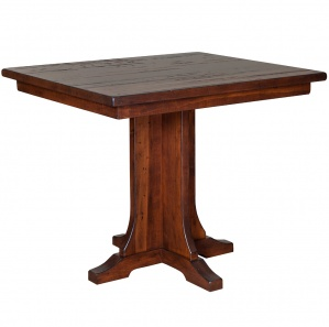 Coulter Cross Amish Pub Table