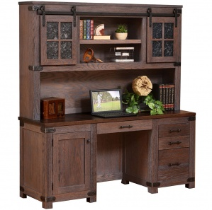 Georgetown Amish Credenza with Hutch Option