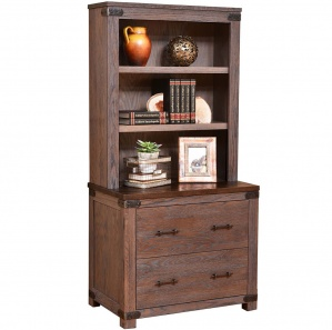 Georgetown Lateral File & Hutch Option