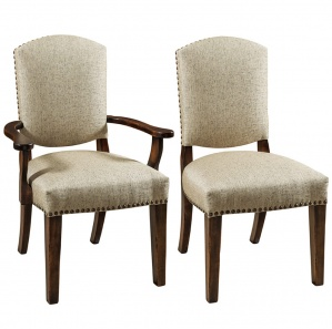 Collinsville Upholstered Amish Dining Chairs