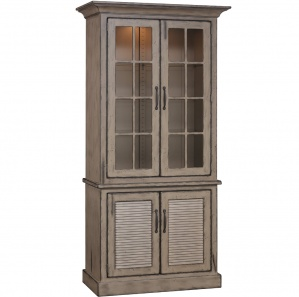 Baldwin Amish Buffet with China Cabinet Option