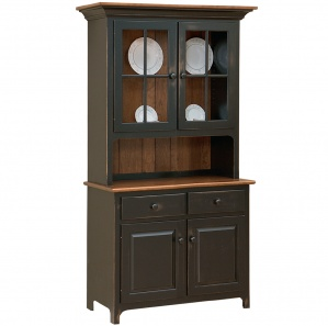 Plymouth Amish Buffet with Cabinet