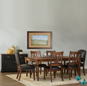 Avalon Amish Dining Room Furniture Set