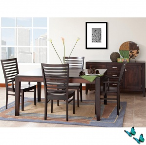 Capri Amish Dining Room Furniture Set