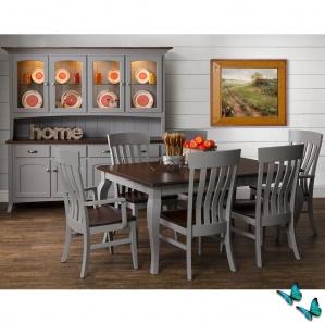 Palomar Farmhouse Amish Kitchen Table Set