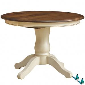 Napoleon Pedestal Amish Dining Table