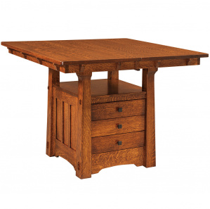 Franciscan Cabinet Amish Dining & Bar Table
