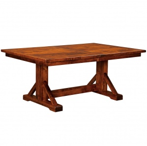 Clear Creek Trestle Amish Dining Table