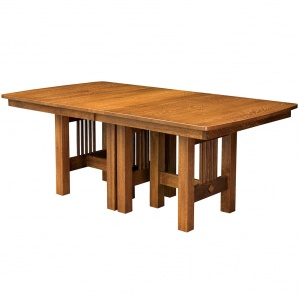 Hartford Trestle Amish Dining Table