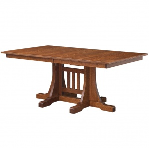 Ridgecrest Pedestal Amish Table
