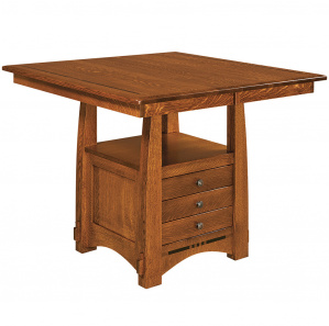 Colebrook Cabinet Amish Dining & Bar Table